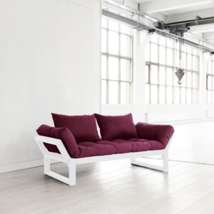 Sofa Karup Edge White/Bordeaux
