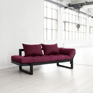 Sofa Karup Edge Black/Bordeaux