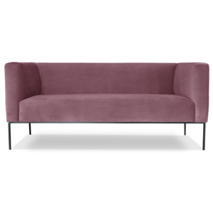Różowa sofa 2-osobowa Windsor  & Co. Sofas Neptune