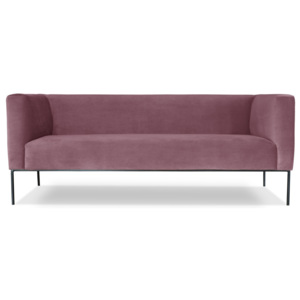 Różowa sofa 3-osobowa Windsor  & Co. Sofas Neptune