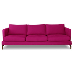 Różowa sofa 3-osobowa Windsor  & Co. Sofas Jupiter