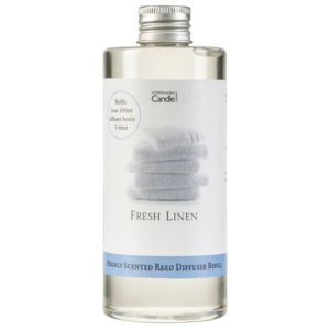 Zapas do dyfuzora Copenhagen Candles Fresh Linen, 300 ml