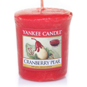 CRANBERRY PEAR SAMPLER YANKEE CANDLE