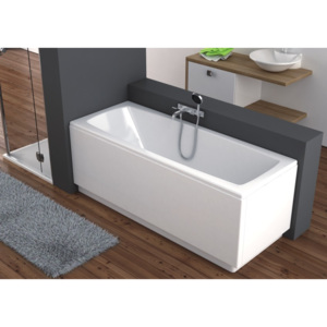 WANNA PROSTOKĄTNA AKRYLOWA ARCLINE 70X140 INDEKS: 243-05310 AQUAFORM