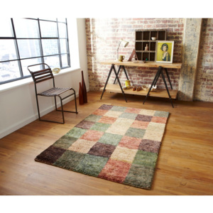Dywan Think Rugs Hemp Check, 120x170 cm