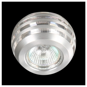 Luxera Downlight 71007 chrom 1xGU10/50W 71007