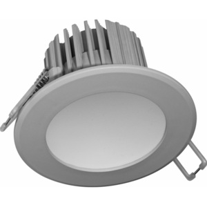 Nedes Nedes LDL223 - LED Lampa sufitowa Łazienkowa LED/7W šedá IP44 ND0033