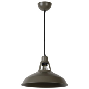 Lucide Lucide 43401/31/41 - Lampa wisząca BRASSY-BIS 1xE27/60W/230V szary LC0718