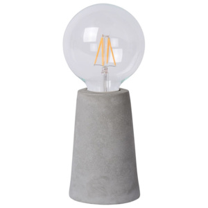 Lucide Lucide 34517/04/41 - LED lampa stołowa CONCRETE 1xE27/4W/230V szary LC1910