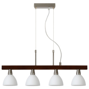 Lucide Lucide 12492/24/72 - Lampa wisząca MEHOGNA 4xG9/28W/230V LC1129