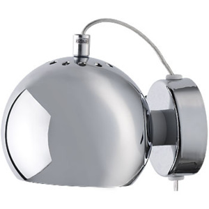 FRANDSEN lampa kinkiet BALL WALL chrom