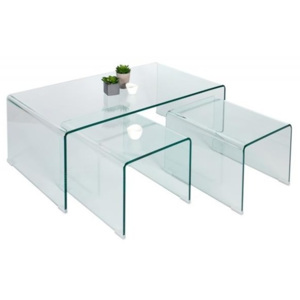 Stolik GLASS TRIO