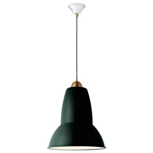 ANGLEPOISE lampa wisząca ORIGINAL 1227 GIANT BRASS midnight green