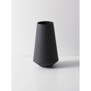 FERM LIVING wazon SCULPT well, ciemnoszary