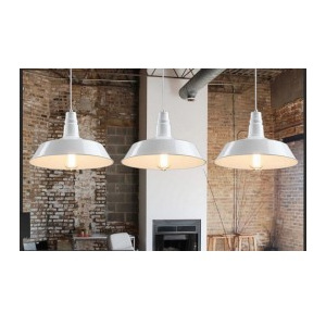 LAMPA INDUSTRIALNA SAGGI BLACK / SILVER / WHITE