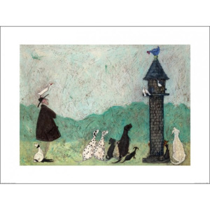 Reprodukcja Sam Toft - An Audience with Sweetheart, (80 x 60 cm)