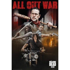 Plakat, Obraz The Walking Dead - Season Collage, (61 x 91,5 cm)