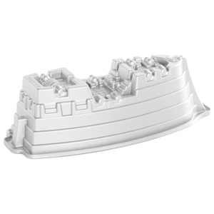 Nordic Ware Forma do statku pirackiego Pirate Ship Bundt® srebrna