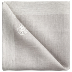 Georg Jensen Damask Serwetka grey 45 x 45 cm PLAIN