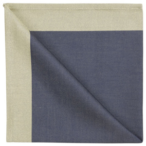 Georg Jensen Damask Serwetka blue gold 50 x 50 cm