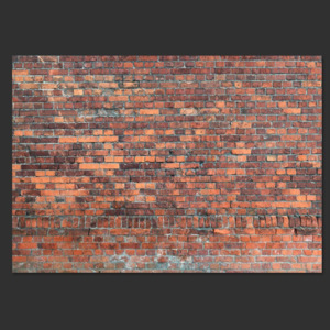 Fototapeta - Vintage Wall (Red Brick)