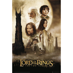 Plakat, Obraz Lord Of The Rings - two towers one sheet, (61 x 91,5 cm)