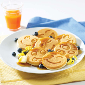 Patelnia do pancakes Smiley Face Nordic Ware