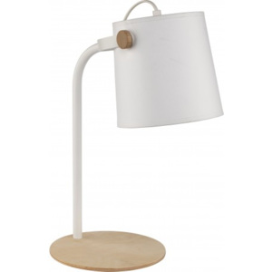 TK Lighting Lampa stołowa Click Gray