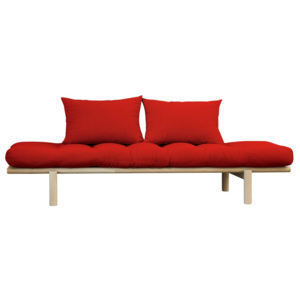 Sofa Karup Pace Natural/Red