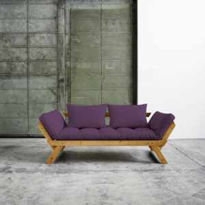 Sofa rozkładana Karup Bebop Honey/Purple