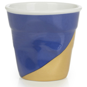 REVOL Kubeczek do espresso 80 ml Twist Blue Up Froissés
