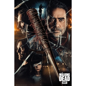 Plakat, Obraz The Walking Dead - Smash, (61 x 91,5 cm)