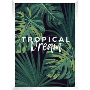 Plakat TROPICAL DREAM w ramie 54x74 cm