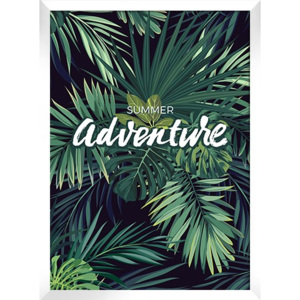 Plakat TROPICAL ADVENTURE w ramie 54x74 cm