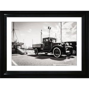 Plakat CLASSIC AUTO - IN THE PORT w ramie 84x64 cm