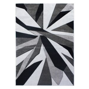 Czarno-szary dywan Flair Rugs Shatter Black Grey, 160x230 cm