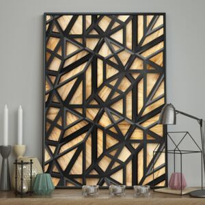 DecoKing - Plakat ścienny - Wood Craft 40x50 cm