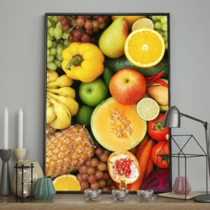 DecoKing - Plakat ścienny - Vitamins 40x50 cm