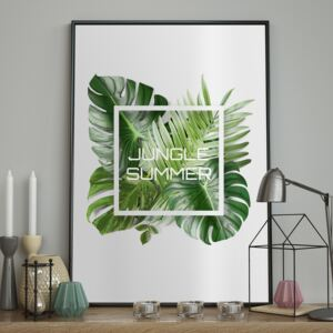 DecoKing - Plakat ścienny - Jungle - Summer 40x50 cm