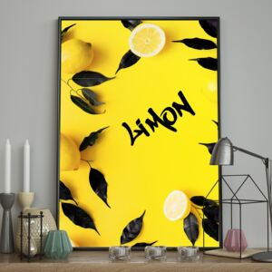 DecoKing - Plakat ścienny - Limon 40x50 cm