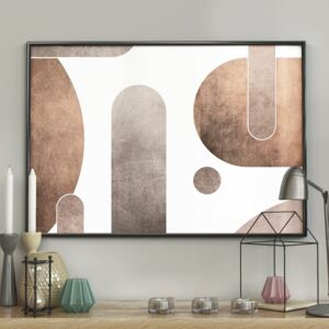 DecoKing - Plakat ścienny – Geometry Stones 40x50 cm