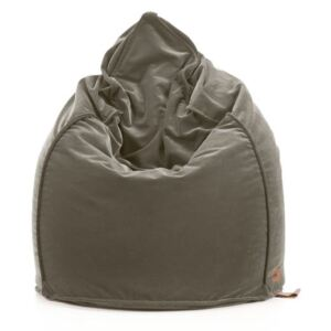 Pufa SACK ALLUREvelvet AV12 light grey