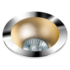 REMO 1 DOWNLIGHT CHROME : Odbłyśnik - Champagne Wpustowe (oczka) Chrom GU10 LED AZ1730+AZ0825