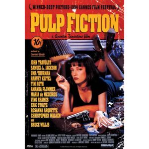Plakat, Obraz Pulp Fiction - cover, (61 x 91,5 cm)