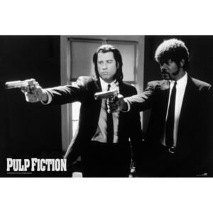 Plakat, Obraz Pulp fiction - guns, (91,5 x 61 cm)
