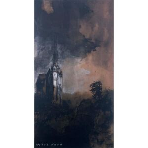 Victor Hugo - Reprodukcja The Castle in the Moonlight