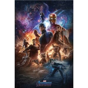 Plakat, Obraz Avengers Endgame - From The Ashes, (61 x 91,5 cm)