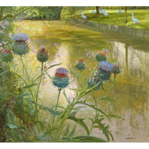 Timothy Easton - Reprodukcja Cardoons Against the Moat