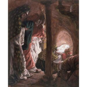 James Jacques Joseph Tissot - Reprodukcja The Adoration of the Wise Men illustration for 'The Life of Christ' c 1886-94