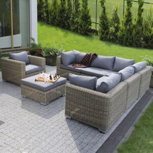 Komplet mebli ogrodowych Dorothee cappuccino PATIO